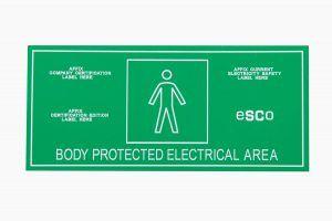 ESCO Medical Area Signs